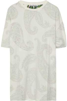 Acne Studios Olga Printed Cotton-Jersey T-Shirt