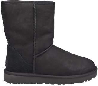 UGG Fur Trim Boots