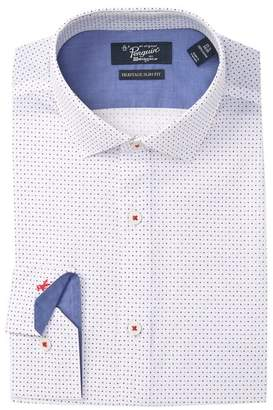 Original Penguin Polka Dot Slim Fit Dress Shirt
