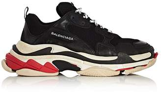 Balenciaga Men's Triple S Platform Sneakers