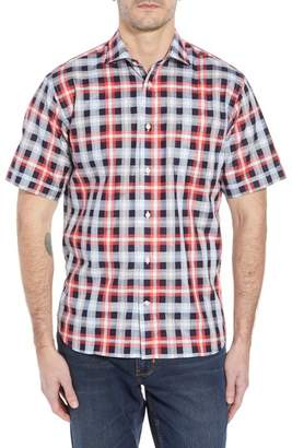Thomas Dean Regular Fit Check Sport Shirt