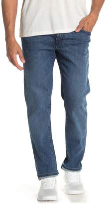 "Fidelity Jimmy Slim Straight Fit Jeans - 34\"" Inseam"