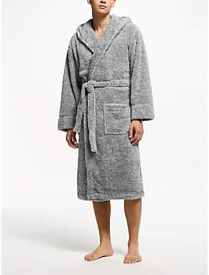 John Lewis & Partners High Pile Hooded Robe