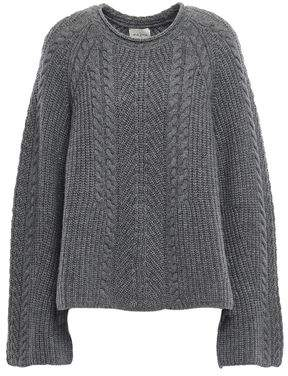 Melange Home Le Kasha 1918 Grenade Cable-knit Cashmere Sweater
