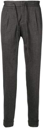 Paolo Pecora pinstripe tapered trousers