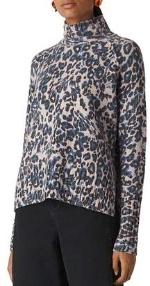 Whistles Jungle Cat Wool Sweater