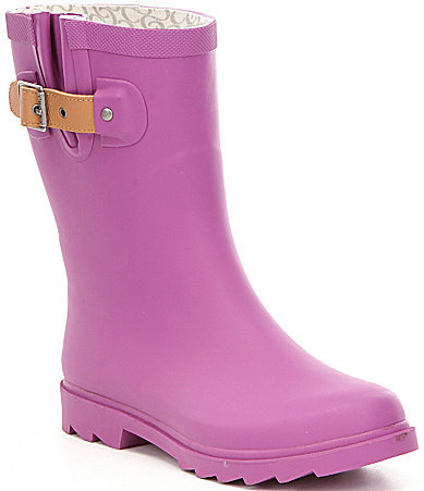 Chooka Chooka Top Solid Mid Rain Boots