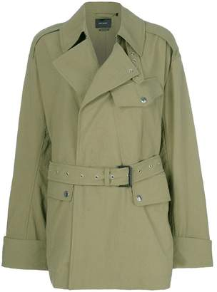 Isabel Marant short belted trench jacket