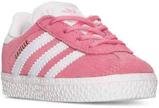 adidas Toddler Girls' Gazelle Casual Sneakers from Finish Line $49.99 thestylecure.com