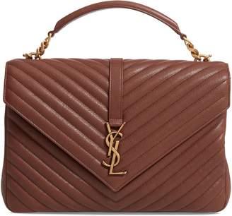 1775e716ac Saint Laurent Medium College Shoulder Bag