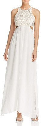 Ella Moss Valletta Cutout Maxi Dress $298 thestylecure.com