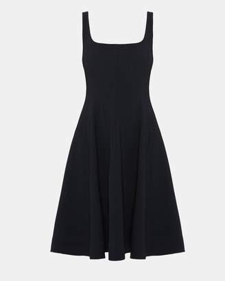 Theory Crepe Modern Flare Dress