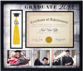 "New View Graduate 2018"" Diploma Tassel Frame"