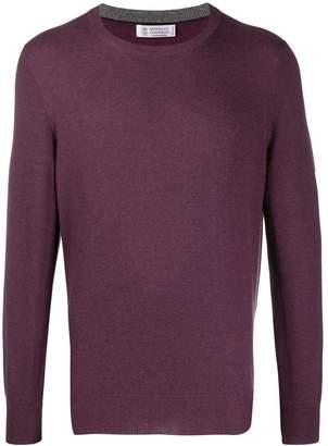 Brunello Cucinelli crew-neck cashmere sweater