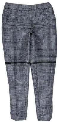Pierre Balmain Low-Rise Printed Pants w/ Tags