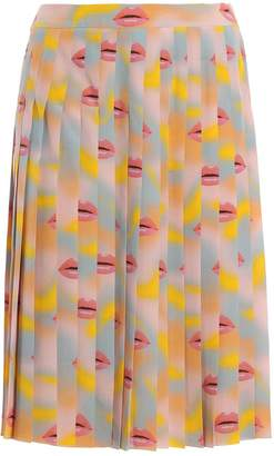 Prada Cdc Lips Skirt