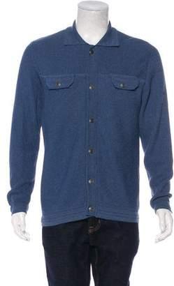 Maison Margiela Knit Button-Up Cardigan