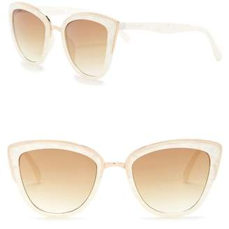 Steve Madden 53mm Oxford Cat Eye Sunglasses