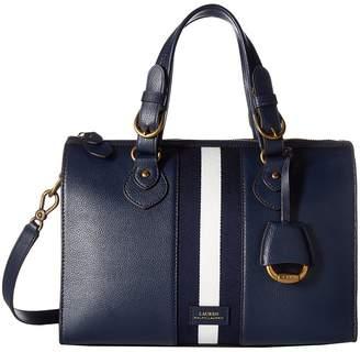 Lauren Ralph Lauren Chesterfield Duffel Satchel Medium Satchel Handbags
