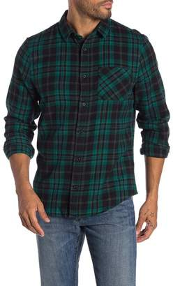 Public Opinion Long Sleeve 1-Pocket Flannel Shirt