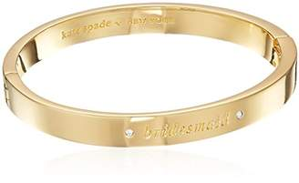 Kate Spade Pave Bridesmaid Bangle Her Day to Shine Pave Bridesmaid Bangle Bracelet