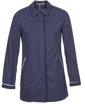 La City FELICIANA women's Trench Coat in Blue