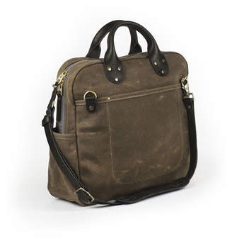 Winter Session Waxed Canvas Travel Day Bag