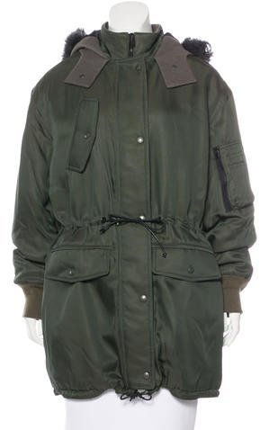 Balenciaga Balenciaga Hooded Parka Coat w/ Tags