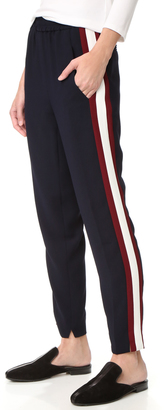 Whistles Contrast Stripe Elyse Trousers $230 thestylecure.com