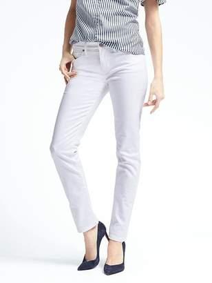 Banana Republic Petite Slim-Straight Stain-Resistant Jean