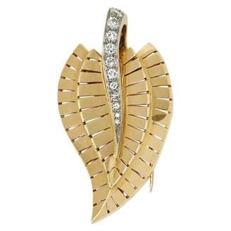Van Cleef & Arpels Yellow gold pin & brooche