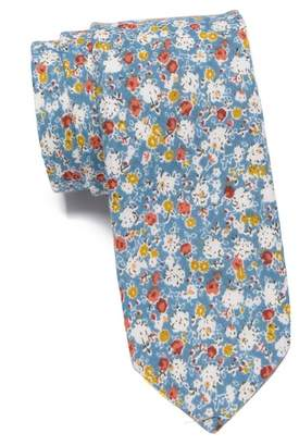 Original Penguin Sommers Floral Skinny Tie