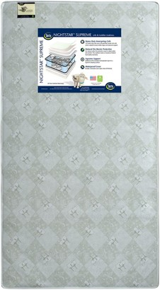 Serta Nightstar Supreme Crib & Toddler Mattress