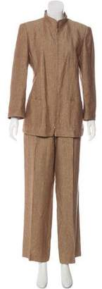 Akris Structured Jacket Pant Set