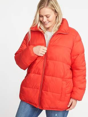 Old Navy Plus-Size Frost-Free Puffer Jacket