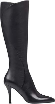45d4670e68b Knee High Boots Wide Calf Leather - ShopStyle