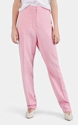 Loewe Women's Twill Slim Trousers - Pink