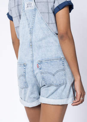 Levi's Short Overall | WIldfang - Vintage Shortall - BLUE - LARGE