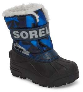 Sorel Children's Snow Commander Insulated Waterproof Boot