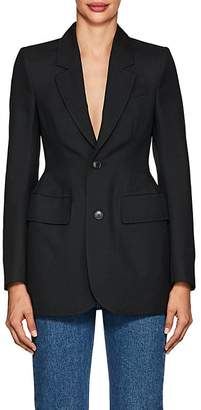 Balenciaga Women's Wool-Blend Hourglass Blazer