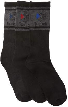 Reebok Classic Crew Socks - Pack of 3