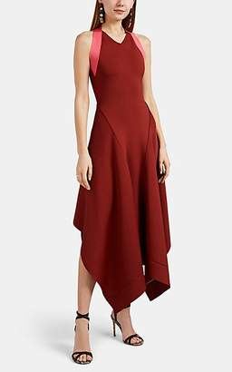 Victoria Beckham Women's Compact Knit Flared Dress - Pink