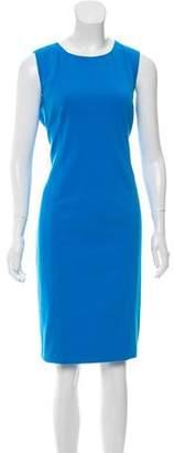 T Tahari Sleeveless Bodycon Dress