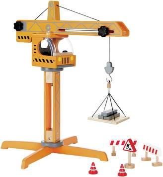 Hape Crane Lift Playset.