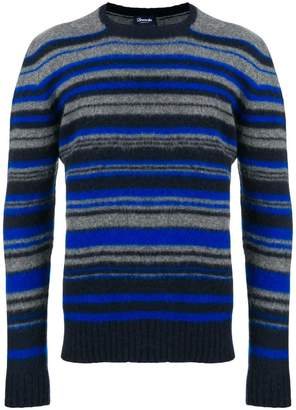 Drumohr striped fitted sweater