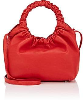 The Row Women's Double-Circle Leather Small Bag - Red
