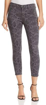 J Brand 835 Mid Rise Crop Skinny Jeans in Tuscan Storm