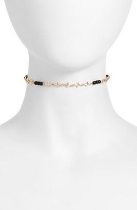 Women's Ettika Star Chain Choker $45 thestylecure.com