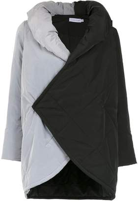 M·A·C Mara Mac contrasting panelled coat