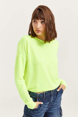Ardene Neon Drawstring Sweatshirt